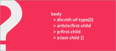 Keep your CSS selectors short