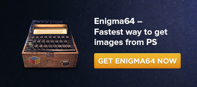 Enigma64 - the fastest way to get images or Base64 string from Photoshop!