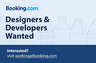 Web Designer at Booking.com