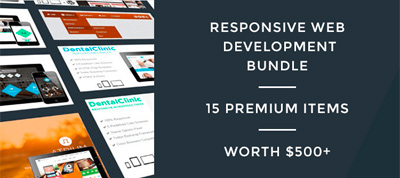 Last Day: Responsive Web Development Bundle worth $500+ just for $19