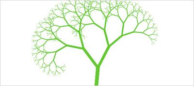 Pure CSS Dancing Tree