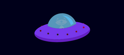 SVG Flying Saucer