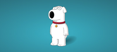 Family Guy's Brian Griffin in Pure CSS