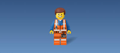 Lego Emmet in Pure CSS