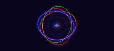 CSS Glowy Disk Spinner