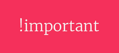 The Importance of !important: Forcing Immutability in CSS