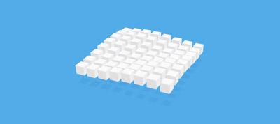 CSS Waving Cubes