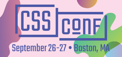 CSSConf US – September 26th & 27th in Boston, MA