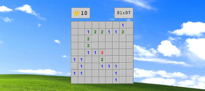 Pure CSS Minesweeper