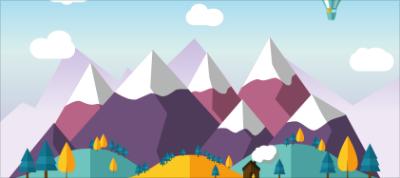 Animated SVG Scene