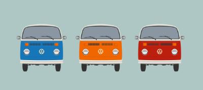 Responsive CSS VW Buses