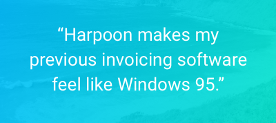 Harpoon: The all-in-one financial success platform for creative businesses