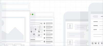 UX Web Tiles for Flow Diagrams and Sitemaps