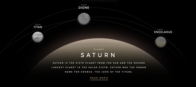 Solar System Explorer in CSS