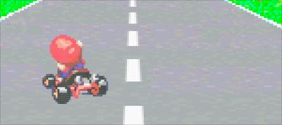Mario Kart: CSS