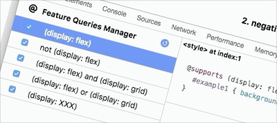 Creating The Feature Queries Manager DevTools Extension