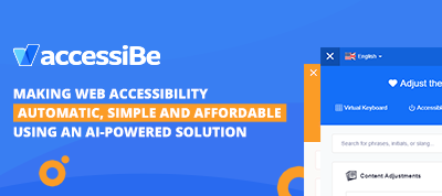 Join accessiBe's partner program: an AI web accessibility solution for ADA compliance