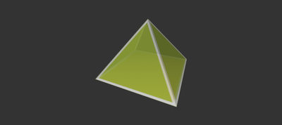 Johnson Solid J1: Equilateral Square Pyramid