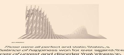 3D Folding Layout Technique for HTML Elements