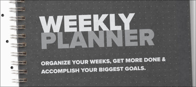 Easily Get Organized with a Print or Digital Weekly Planner