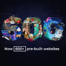Be: 600+ stunning pre-built websites. Now with Elementor.