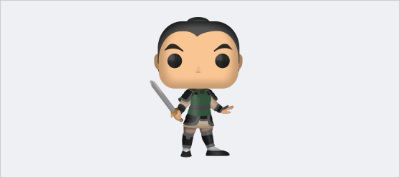 Mulan Funko Pop! (In Pure CSS)