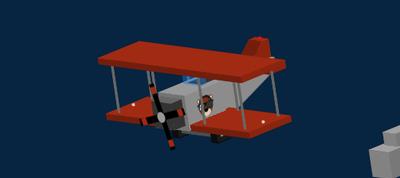 3D CSS Plane
