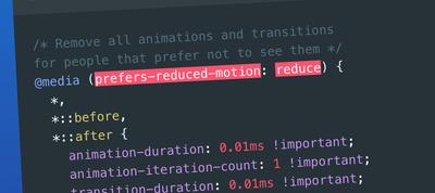 ارتقا Modern مدرن CSS برای بهبود قابلیت دسترسی