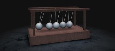 Newton's CSS Cradle
