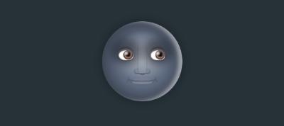 Light/Dark Moon Emoji Toggle (in CSS)