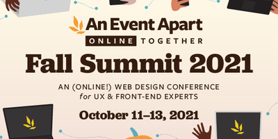 Three days of essential design, code, and content coming to a device near you, October 11–13